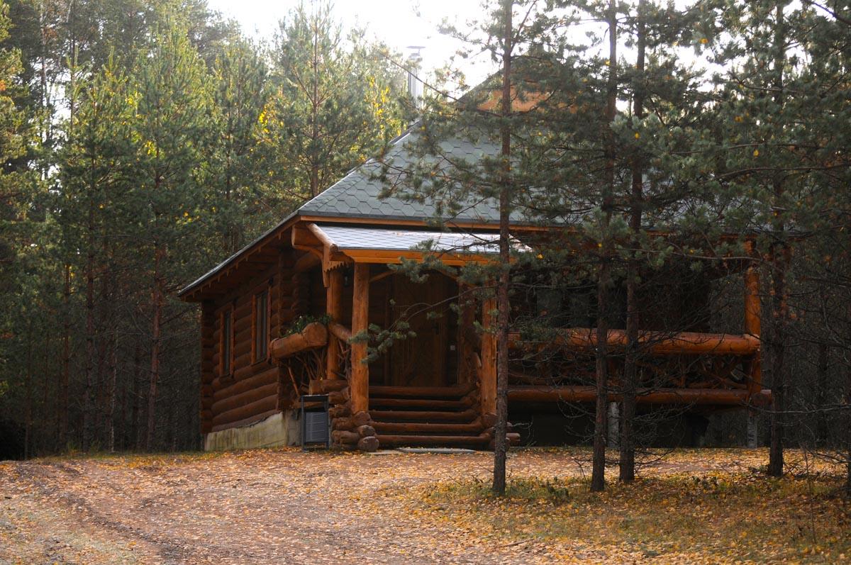 Дом в котором живут участники тренингов выездной психологии