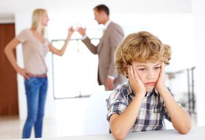 Правильное общение с ребенком во время развода