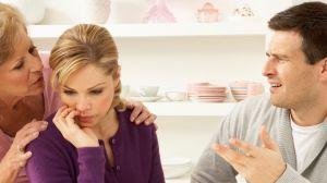 Вмешательство родителей в жизнь молодой семьи