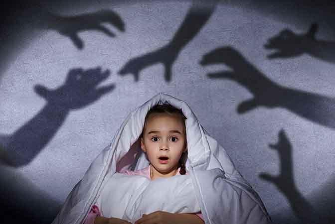 Помощь психолога для коррекции страхов у ребенка