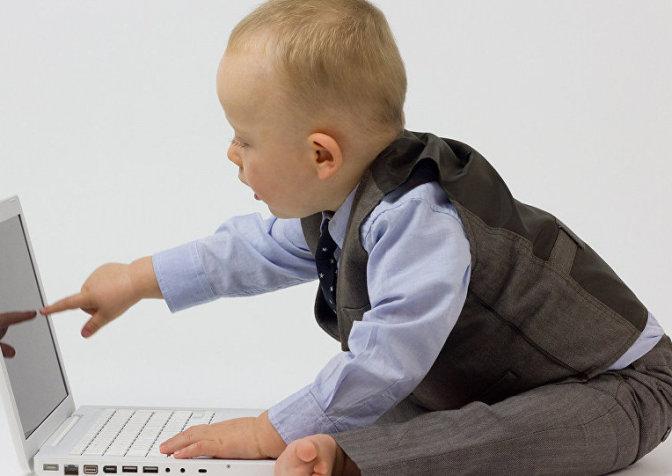 Современные дети начинают очень рано осваивать интернет
