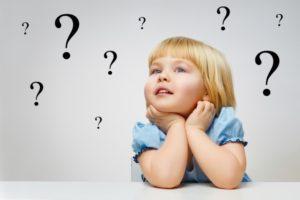 Дети задают тысячи вопросов