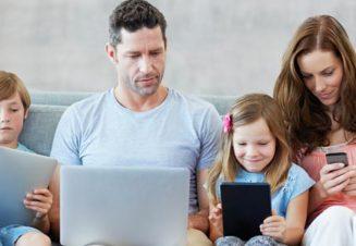 Как воспитать здоровых детей в век цифровых технологий