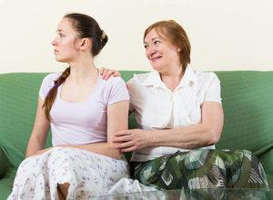 Мать выказывает неуважение к вашим личным границам