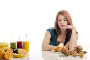 Резкие колебания веса, изменения аппетита и вкусовых пристрастий