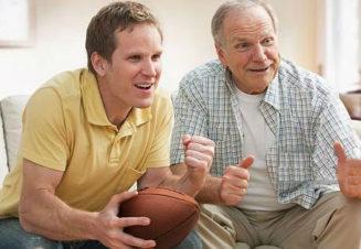 Хорошие отношения взрослых детей с родителями