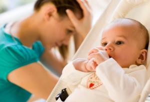 Наиболее часто возникающие психологические проблемы после родов