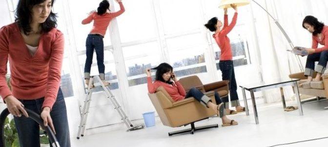 Домашние обязанности остаются прерогативой женщин