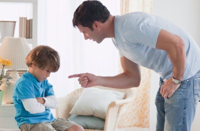Боязнь быть наказанным – это наиболее распространенная причина, по которой врут дети