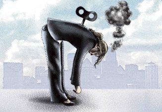 Профессиональное выгорание – это истощение эмоциональных и физических сил вследствие перегрузок.