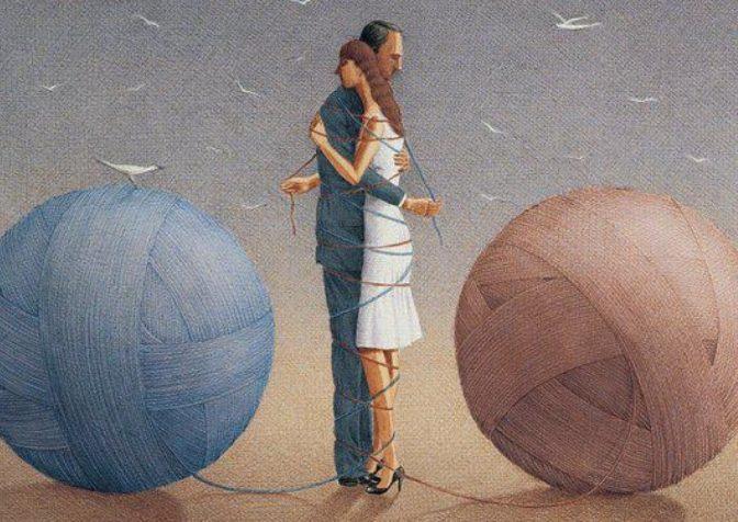 Созависимость – это форма токсичных отношений, которые создают проблемы в семье