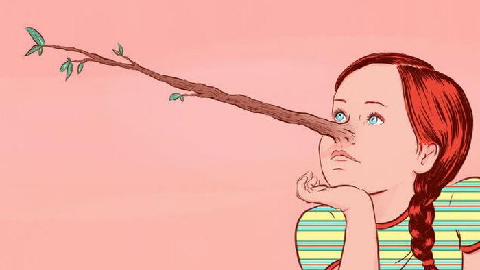 В отличие от фантазий детская ложь имеет ряд специфических признаков