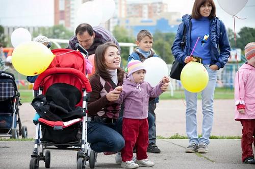 Детский праздник в Одинцово в День города