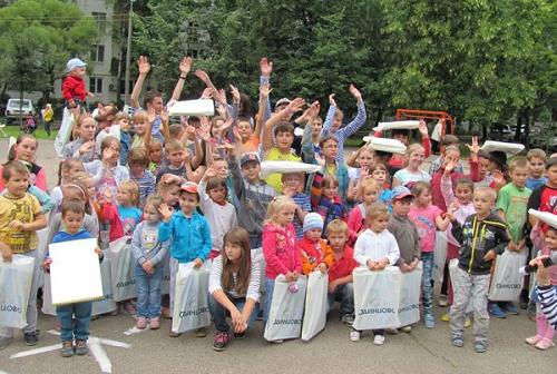Праздник двора в Одинцово