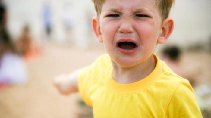 Как грамотно вести родителям во время детской истерики